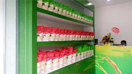 Hoa Lua Rice opening shop DOI CAN - HA NOI
